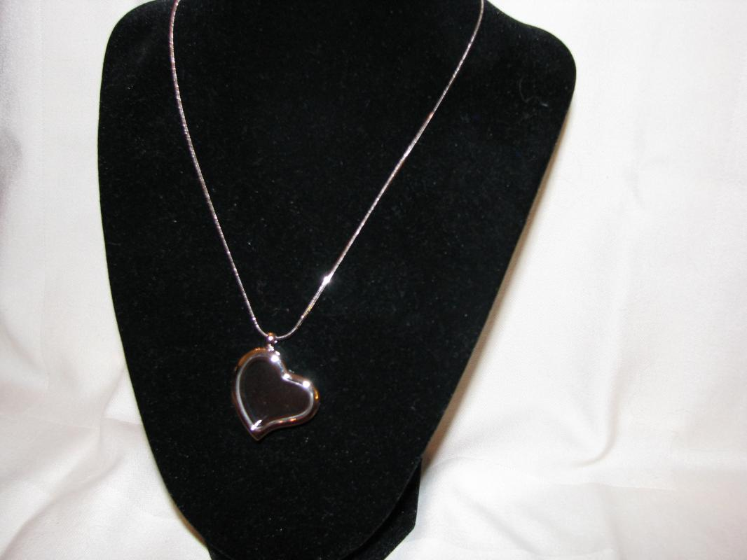 Floating Heart Locket